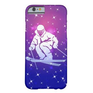 Llevado esquiar caso del iPhone 6 Funda Para iPhone 6 Barely There