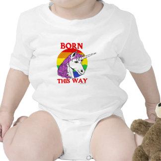 Llevado esta manera traje de bebé