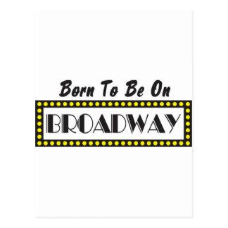 Llevado estar en Broadway Postal