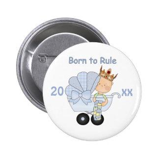 Llevado gobernar/nuevo bebé con la corona+Cochecil Pin