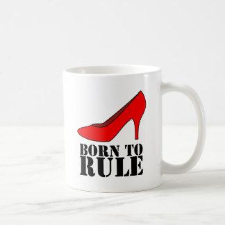 Llevado gobernar tazas de café