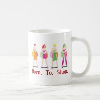 Llevado hacer compras taza de café