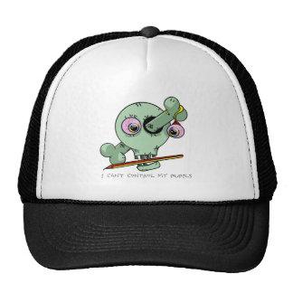 Llevado hacia fuera sobre personalizable divertido gorras de camionero