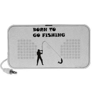 Llevado ir a pescar portátil altavoz