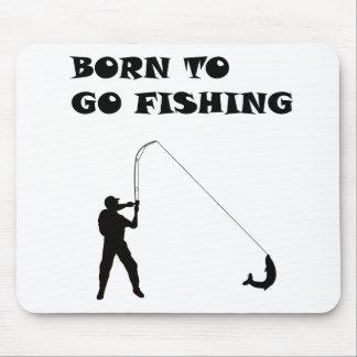 Llevado ir a pescar tapetes de ratón