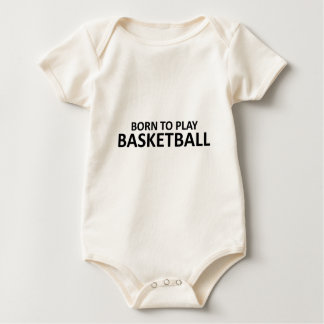 Llevado jugar a baloncesto body para bebé