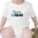 Llevado leer para el bebé camiseta