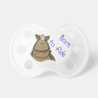 Llevado montar el potro de Brown Chupete De Bebé