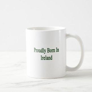 Llevado orgulloso en Irlanda Taza De Café