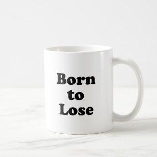 Llevado perder taza clásica
