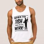 Llevado pescar forzado para trabajar