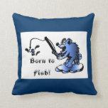 Llevado pescar la almohada