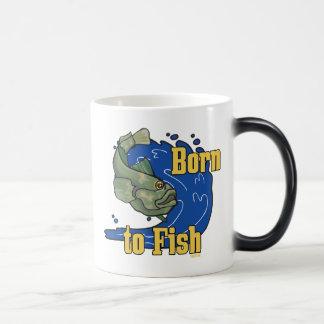 Llevado pescar la camiseta de la pesca taza mágica