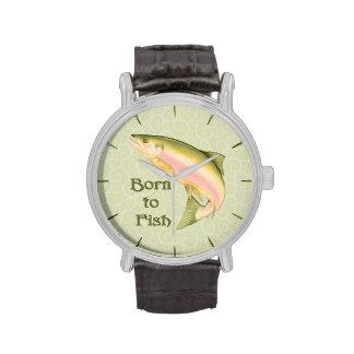 Llevado pescar reloj