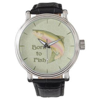 Llevado pescar relojes