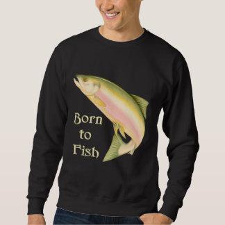 Llevado pescar sudadera