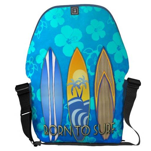 Llevado practicar surf bolsa messenger