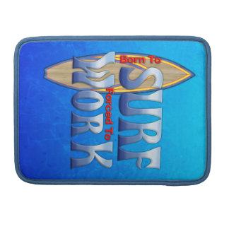 Llevado practicar surf forzado para trabajar fundas para macbooks