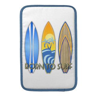 Llevado practicar surf fundas macbook air