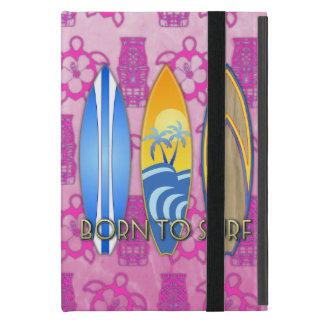 Llevado practicar surf iPad mini fundas