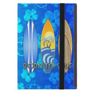 Llevado practicar surf iPad mini funda