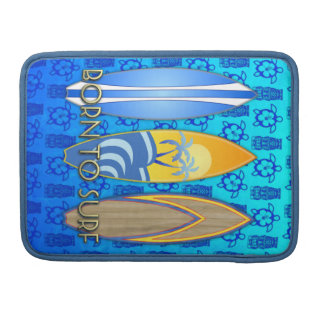 Llevado practicar surf fundas para macbooks