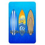 Llevado practicar surf imanes