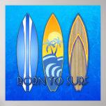 Llevado practicar surf impresiones