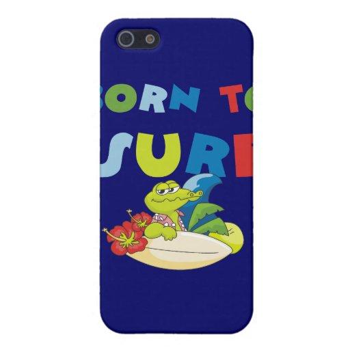 Llevado practicar surf las camisetas y los regalos iPhone 5 coberturas