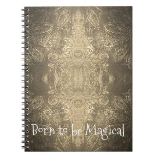Llevado ser cuaderno mágico (80 páginas B&W)