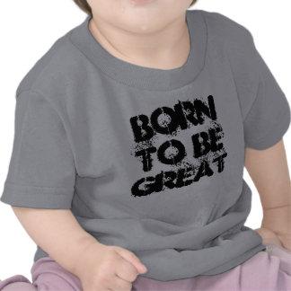 Llevado ser gran camiseta de la ciencia de los niñ