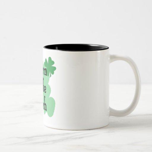 llevado ser irlandés tazas de café