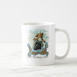 Llevado ser personalizable salvaje taza de café