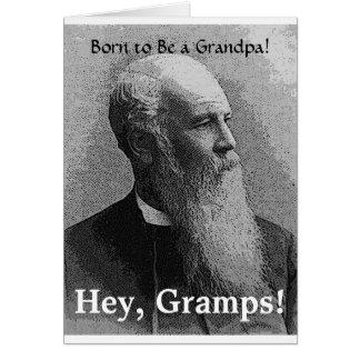 ¡Llevado ser un abuelo! Engranaje Tarjetón