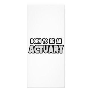 Llevado ser un actuario tarjeta publicitaria personalizada