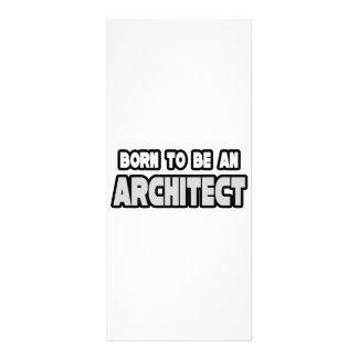 Llevado ser un arquitecto diseño de tarjeta publicitaria