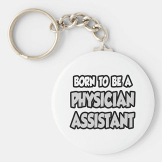 Llevado ser un ayudante del médico llavero redondo tipo pin