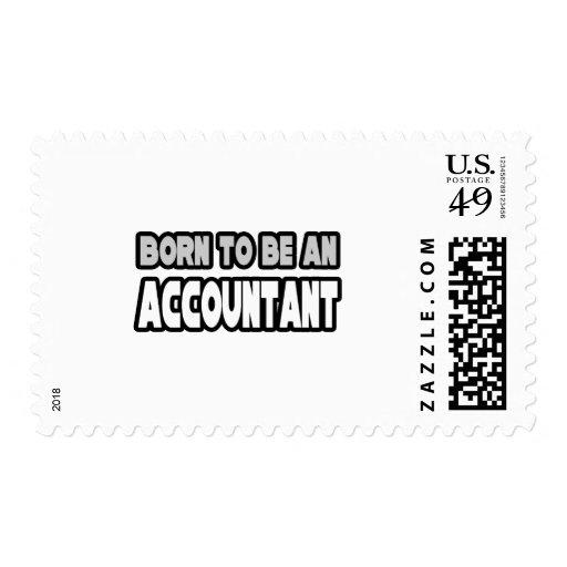 Llevado ser un contable sello