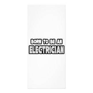 Llevado ser un electricista tarjetas publicitarias a todo color