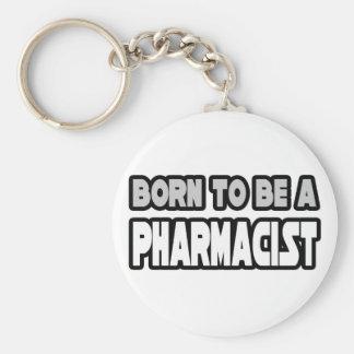 Llevado ser un farmacéutico llaveros personalizados