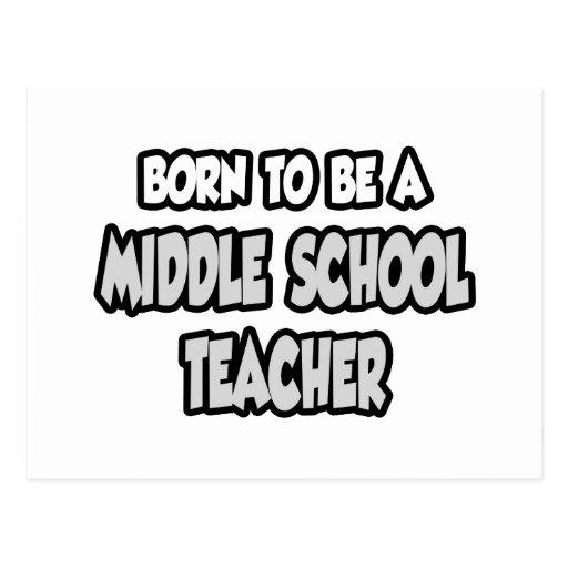 Llevado ser un profesor de escuela secundaria postales