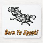 ¡Llevado Spook el caballo de Halloween! Alfombrillas De Ratón