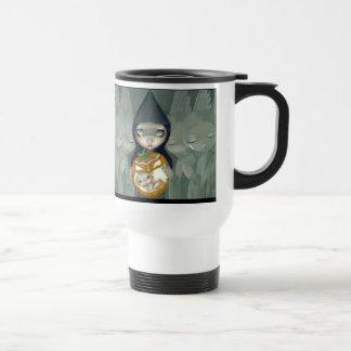 Llevado taza de una calabaza