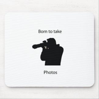 Llevado tomar las fotos mousepad