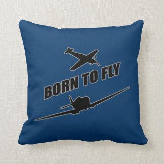 Llevado volar almohada