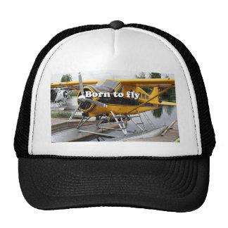 Llevado volar: Avión del flotador del castor Gorra