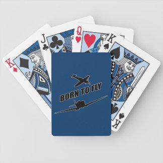 Llevado volar baraja cartas de poker