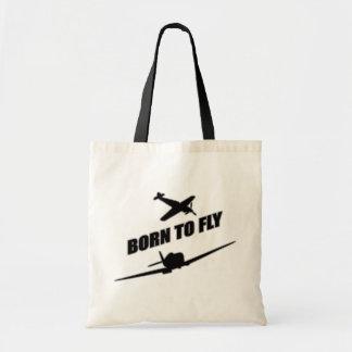 Llevado volar bolsa tela barata