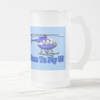 ¡Llevado volar!!! Helicóptero Tazas De Café