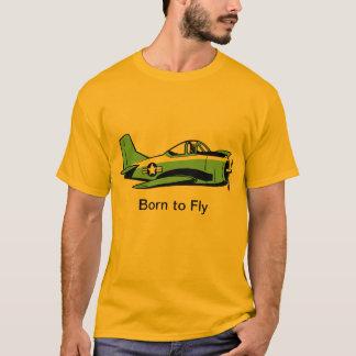 Llevado volar la camisa de la aviación